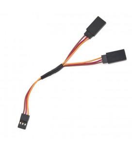 Cable servo en Y 10cm