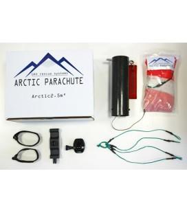 2.5 m² Arctic Parachute complete kit