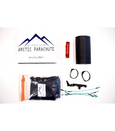 8 m² Arctic Parachute kit complet