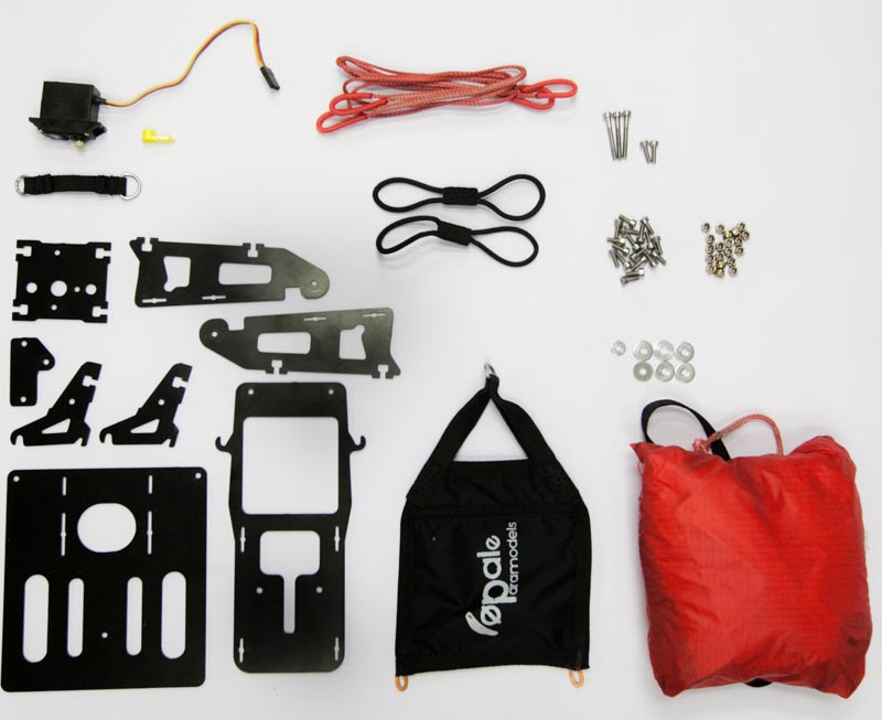 Opale paramodels DJI Inspire Drone Parachute kit whats included
