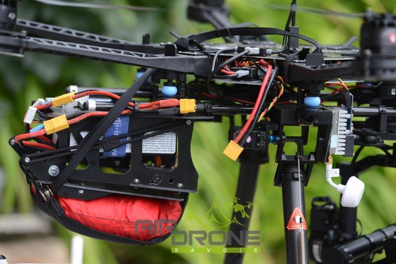 Parachute pour drone Opale Paramodels on DJI S800
