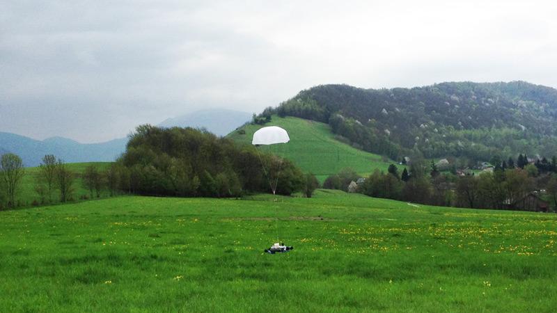 RipAir drone rescue parachute