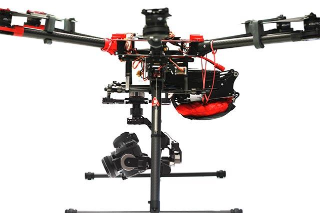 parachute drone opale paramodels dji s900
