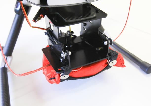 skyhero opale drone parachute uav