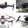 Parachutes for DJI Mavic 2 Pro and Mavic 2 zoom